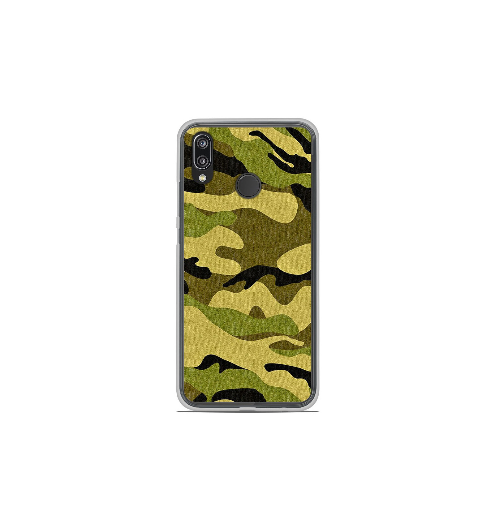 coque en silicone huawei p20 lite camouflage. Black Bedroom Furniture Sets. Home Design Ideas