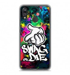 Coque en silicone Huawei P20 Lite - Swag or die