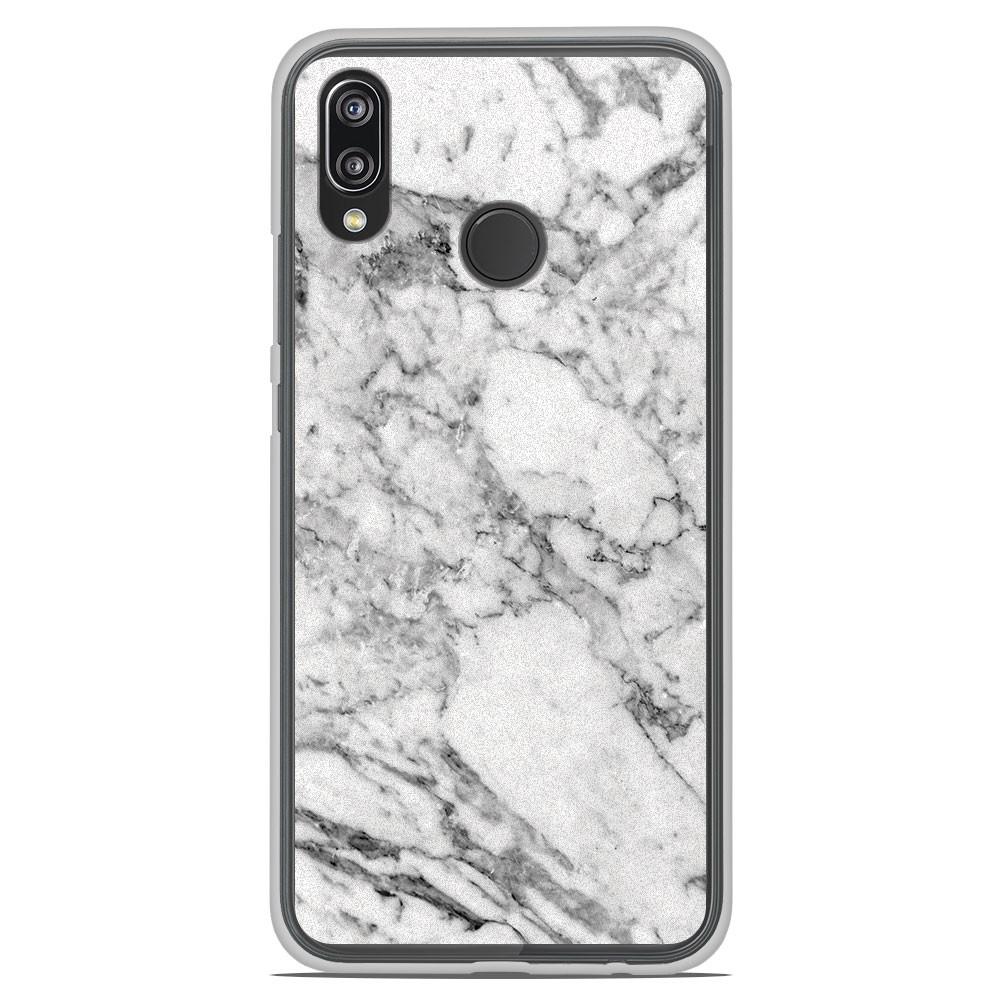 Coque en silicone Huawei P20 Lite - Marbre Blanc