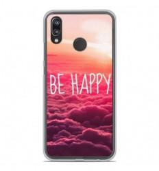Coque en silicone Huawei P20 Lite - Be Happy nuage