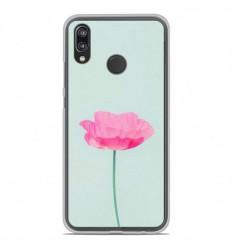 Coque en silicone Huawei P20 Lite - Fleur Rose