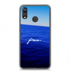 Coque en silicone Huawei P20 Lite - Océan free