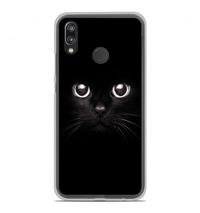 coque huawei p20 lite chat et tigre