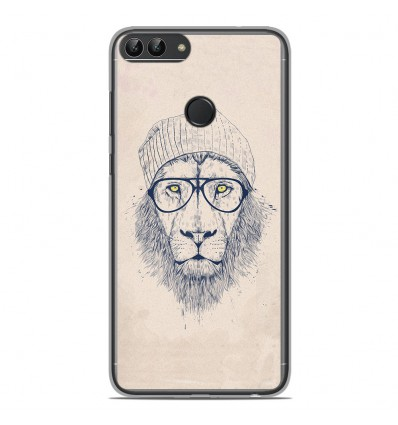 Coque en silicone Huawei P Smart - BS Cool Lion