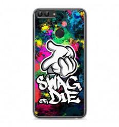 Coque en silicone Huawei P Smart - Swag or die