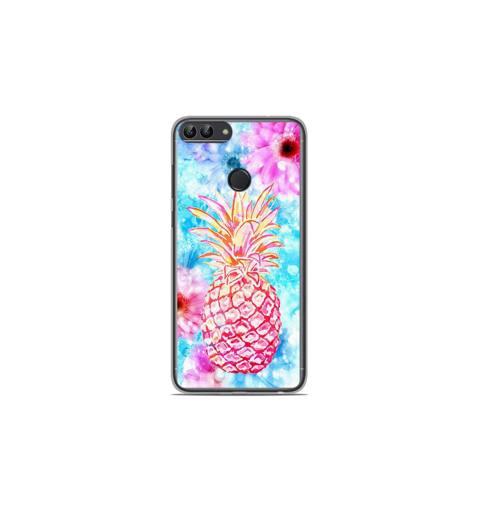 Coque en silicone Huawei P Smart - Ananas
