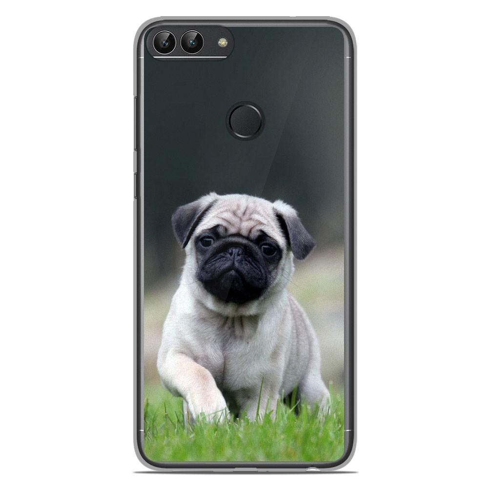 Coque en silicone Huawei P Smart - Bulldog français