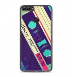 Coque en silicone Huawei P Smart - Cassette Vintage