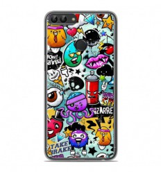 Coque en silicone Huawei P Smart - Graffiti 2