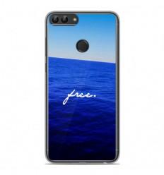 Coque en silicone Huawei P Smart - Océan free