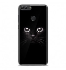 Coque en silicone Huawei P Smart - Yeux de chat