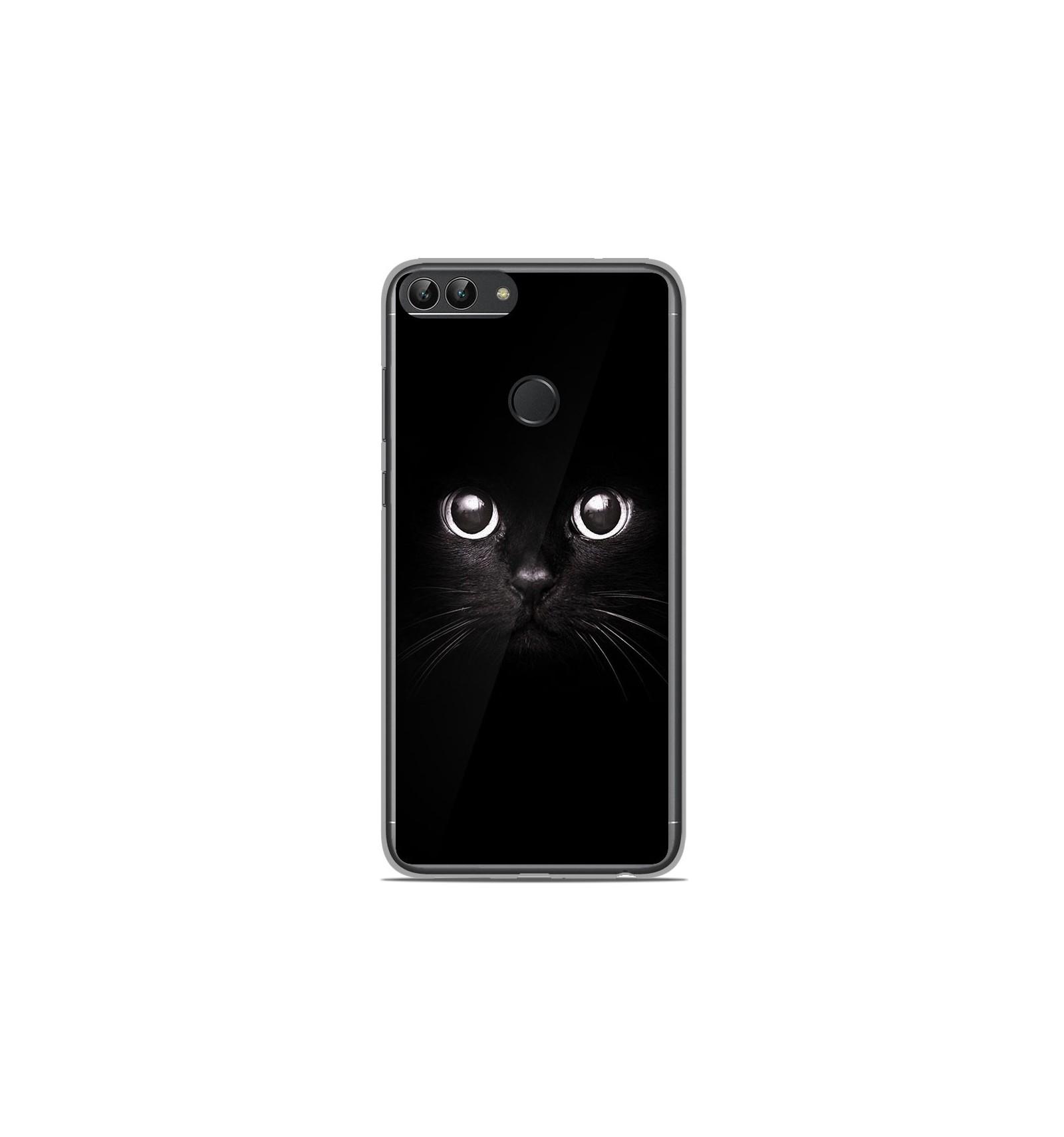 Coque en silicone Huawei P Smart - Yeux de chat
