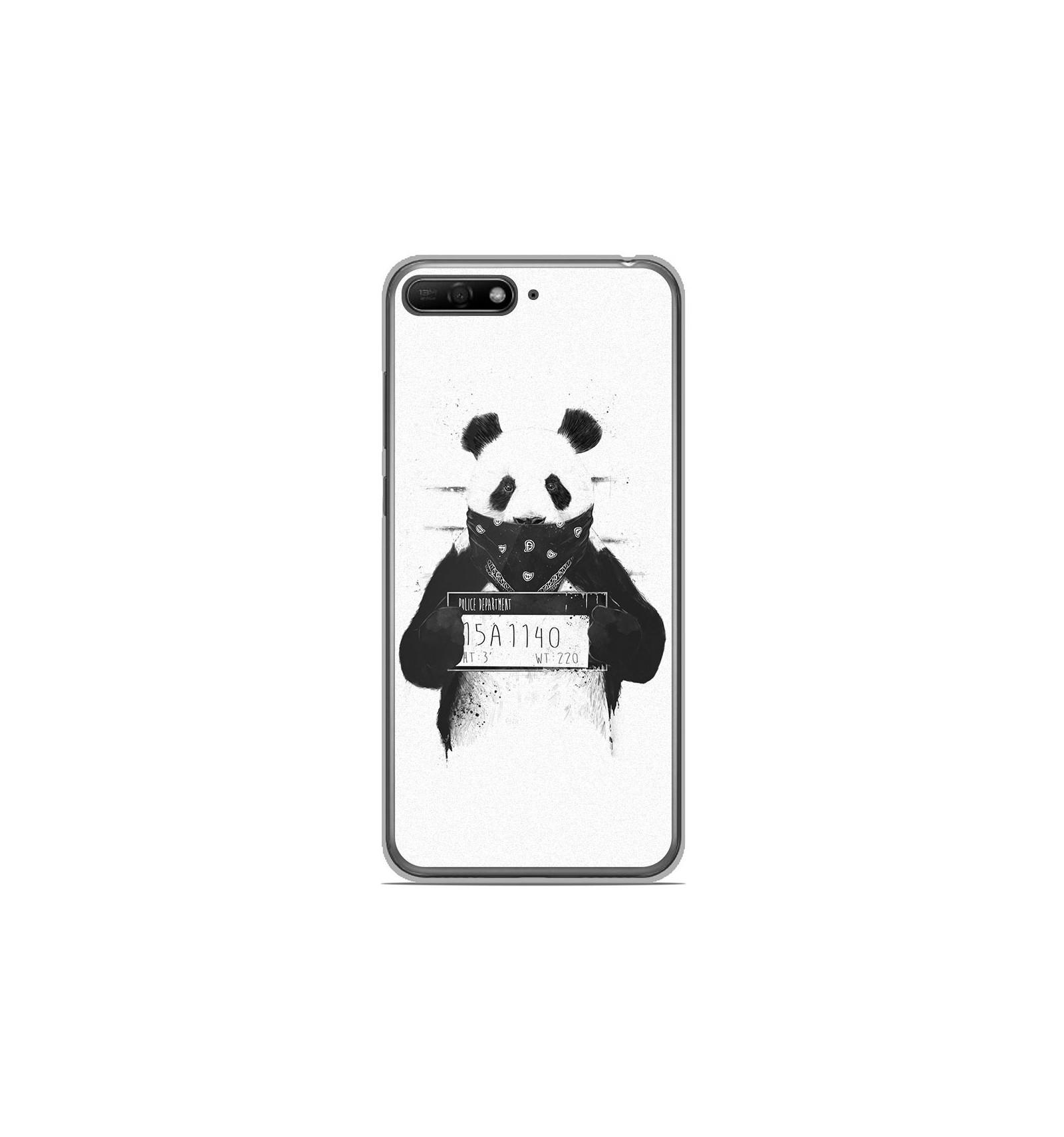 coque de telephone huawei y6 2018 panda