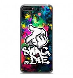 Coque en silicone Huawei Y6 2018 - Swag or die