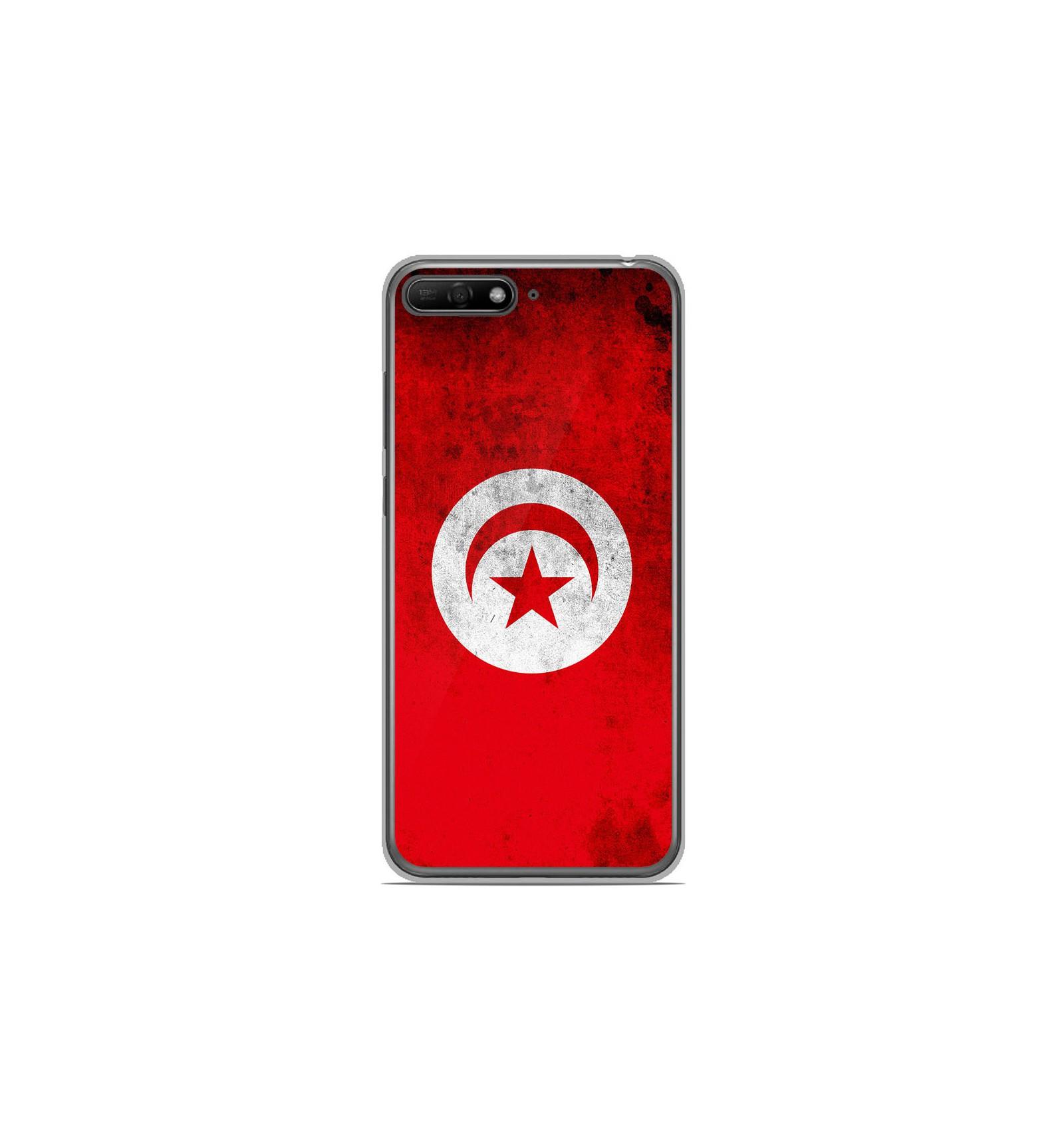 Coque en silicone Huawei Y6 2018 - Drapeau Tunisie