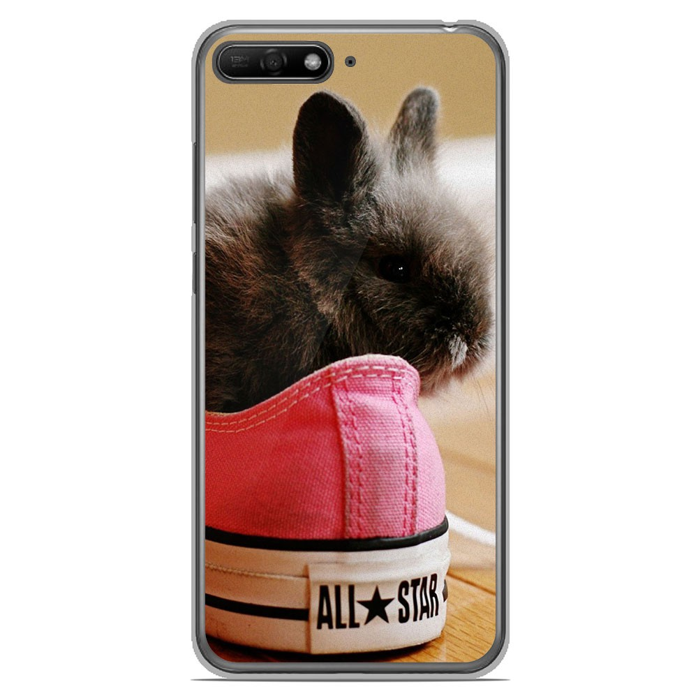 coque huawei y6 lapin
