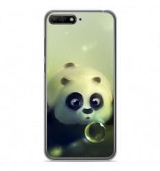 Coque en silicone Huawei Y6 2018 - Panda Bubble