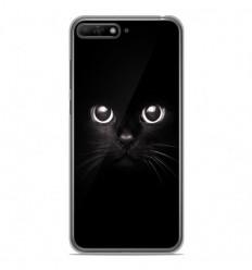 Coque en silicone Huawei Y6 2018 - Yeux de chat