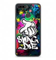 Coque en silicone Huawei Honor 7A - Swag or die