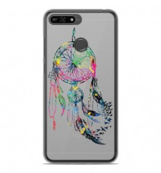 Coque en silicone Huawei Honor 7A - Dreamcatcher Gris