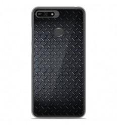 Coque en silicone Huawei Honor 7A - Texture metal