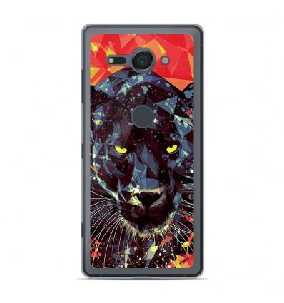 Coque en silicone Sony Xperia XZ2 Compact - ML Noir Parduc
