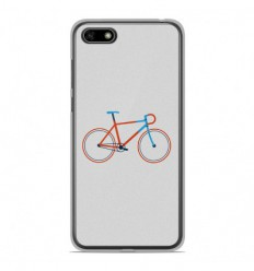 Coque en silicone Huawei Y5 2018 - Bike color Hipster