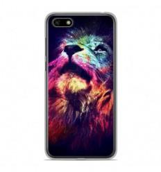 Coque en silicone Huawei Y5 2018 - Lion swag