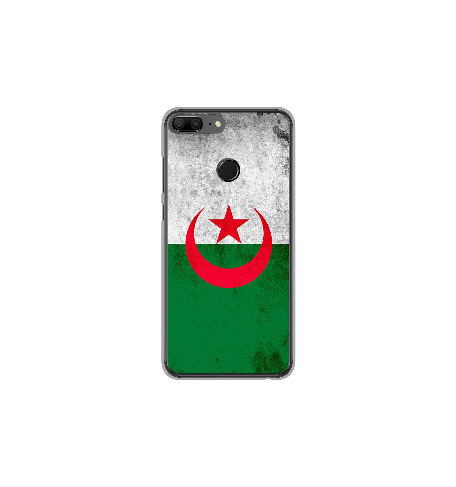 amazon picked up release info on Coque en silicone Huawei Honor 9 Lite - Drapeau Algérie