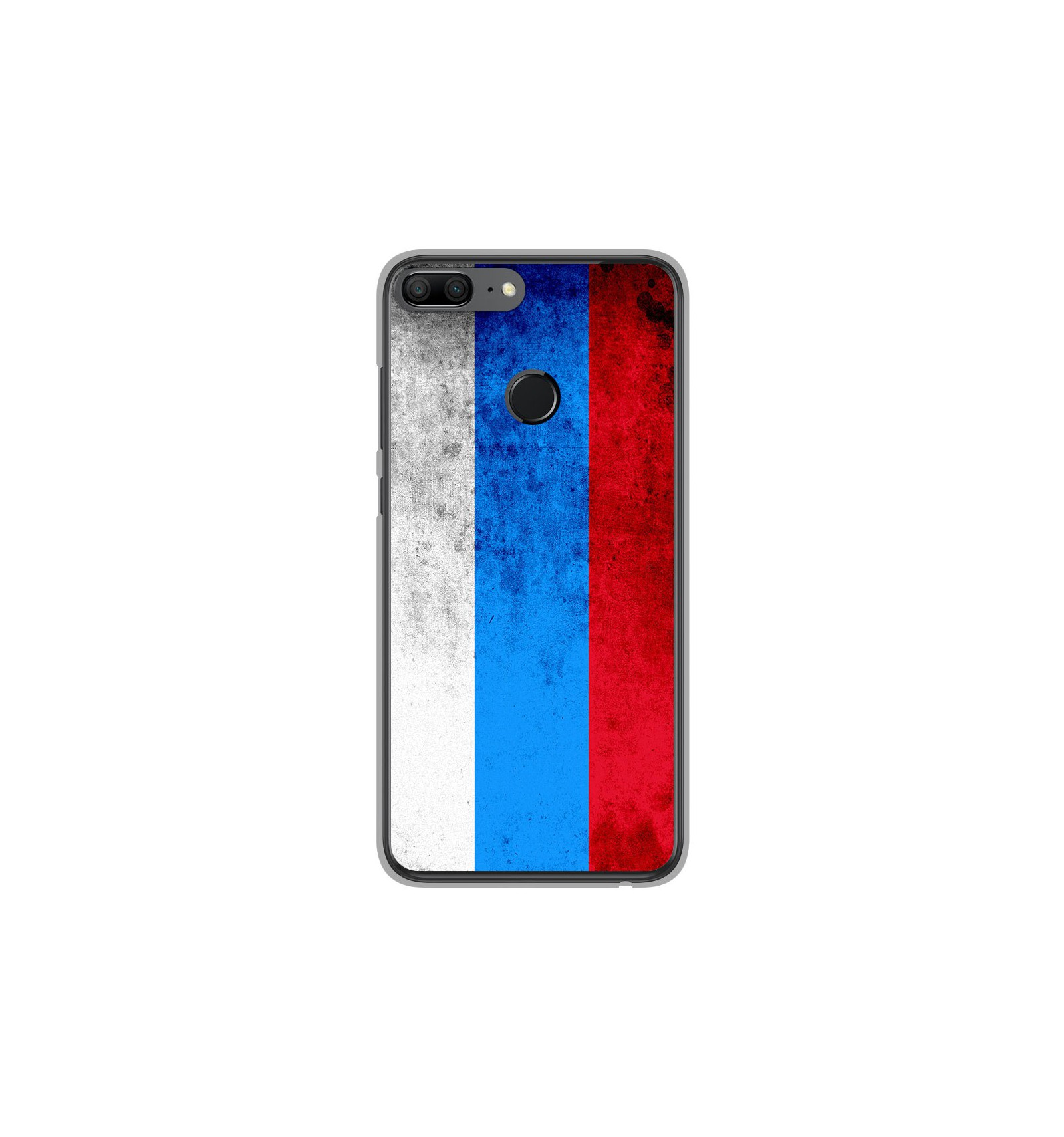 coque en silicone huawei honor 9 lite drapeau russie. Black Bedroom Furniture Sets. Home Design Ideas