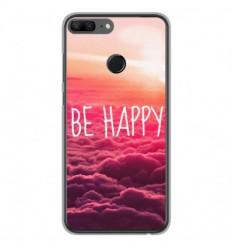 Coque en silicone Huawei Honor 9 Lite - Be Happy nuage