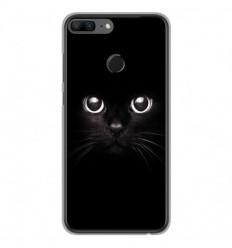 Coque en silicone Huawei Honor 9 Lite - Yeux de chat