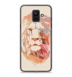 Coque en silicone Samsung Galaxy A6 2018 - RF Desert Lion