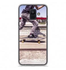 Coque en silicone Samsung Galaxy A6 2018 - Skate