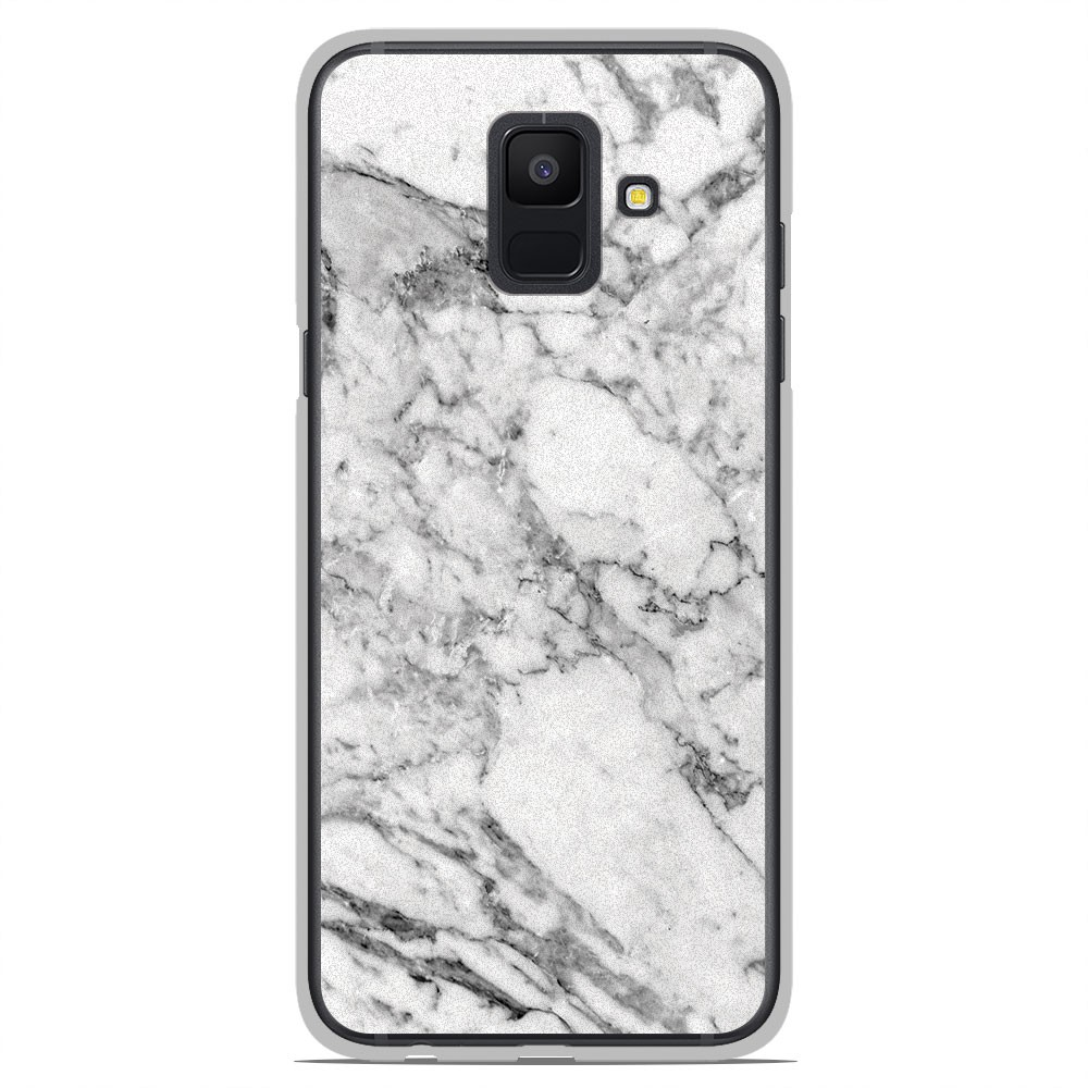 coque samsung a6 2018 marbre rigide