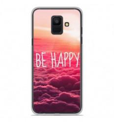 Coque en silicone Samsung Galaxy A6 2018 - Be Happy nuage