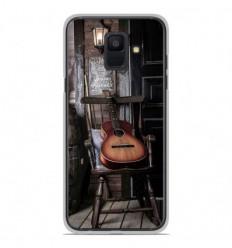 Coque en silicone Samsung Galaxy A6 2018 - Guitare