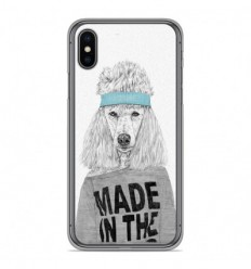Coque en silicone Apple iPhone X / XS - BS 80s Bitch