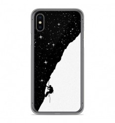 Coque en silicone Apple iPhone X / XS - BS Nightclimbing