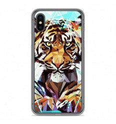 Coque en silicone Apple iPhone X / XS - ML It Tiger