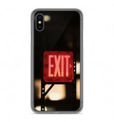 Coque en silicone Apple iPhone X / XS - Exit