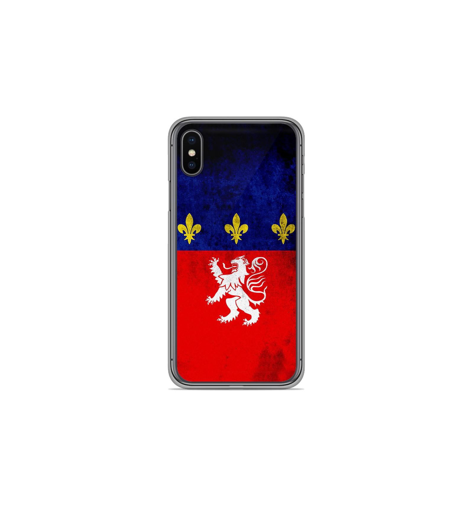 coque iphone x drapeau