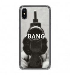 Coque en silicone Apple iPhone X / XS - Bang
