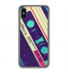 Coque en silicone Apple iPhone X / XS - Cassette Vintage
