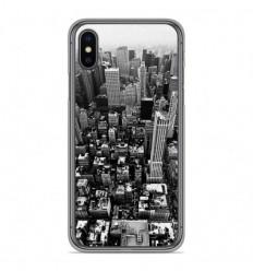 Coque en silicone Apple iPhone X / XS - City
