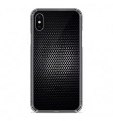 Coque en silicone Apple iPhone X / XS - Dark Metal