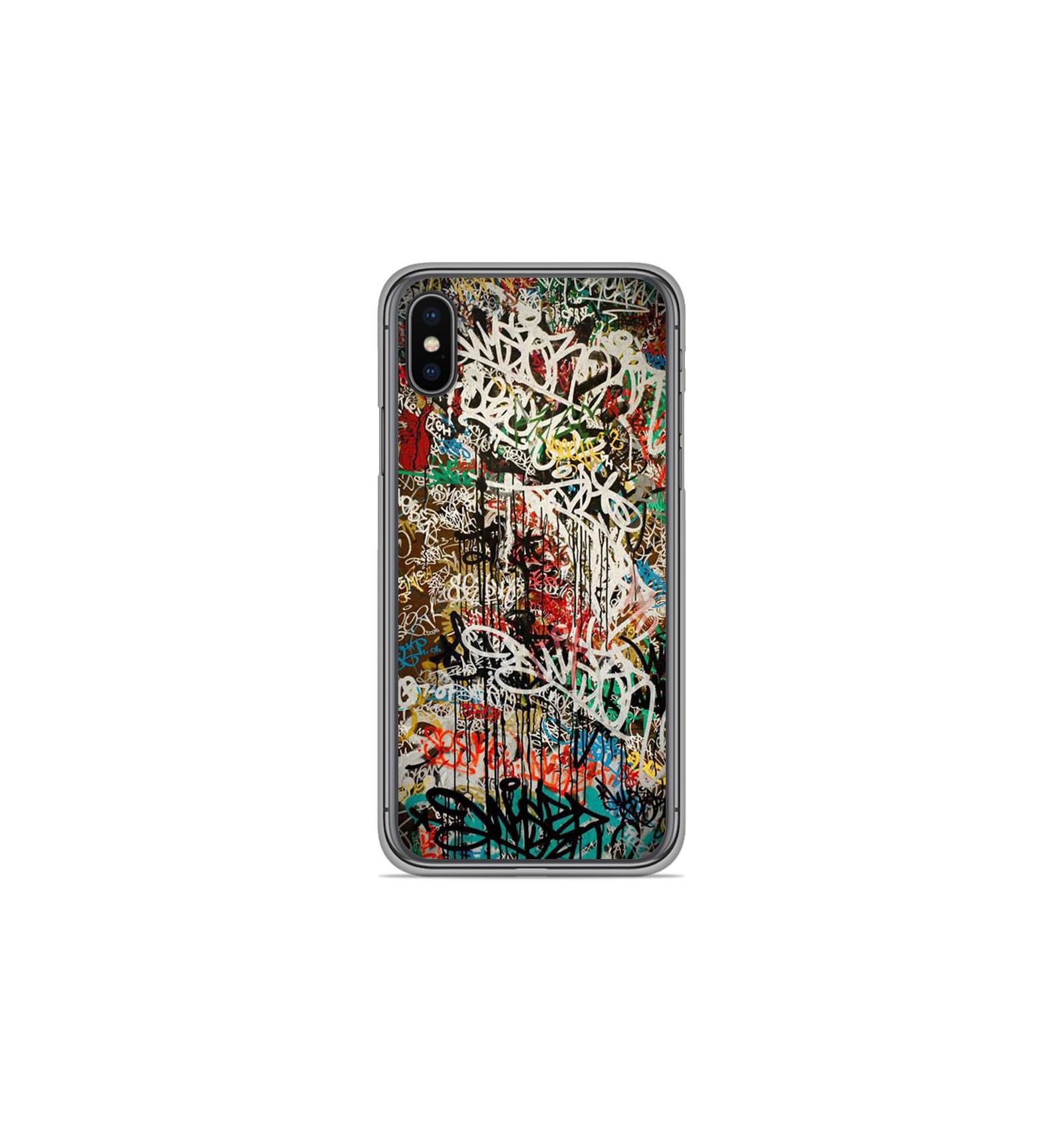 coque iphone xs graffiti