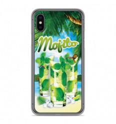 Coque en silicone Apple iPhone X / XS - Mojito Plage