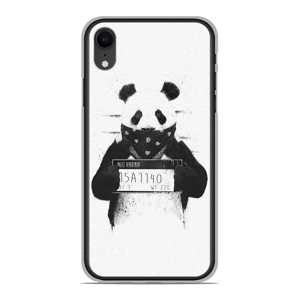 Coque en silicone Apple iPhone XR - BS Bad Panda