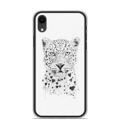 coque leopard iphone xr